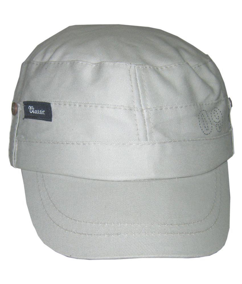 Goodluck Gray Cotton Caps