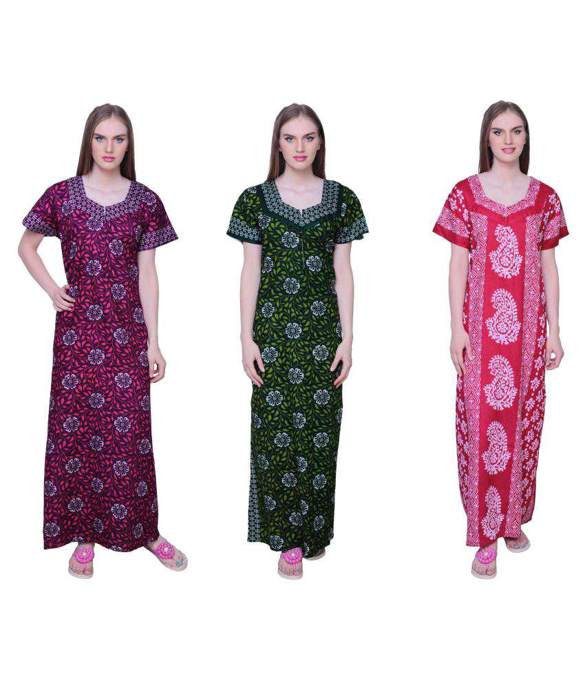 Simrit Cotton Nighty & Night Gowns