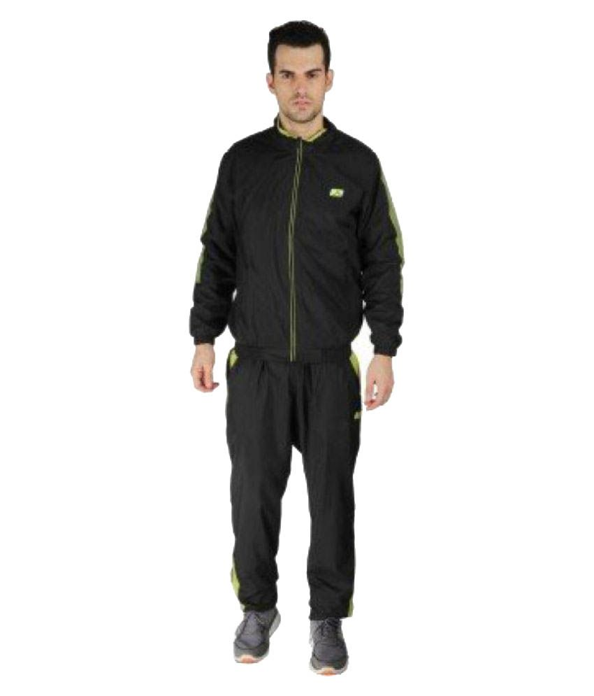 Vector X Black Polyester Track Suit