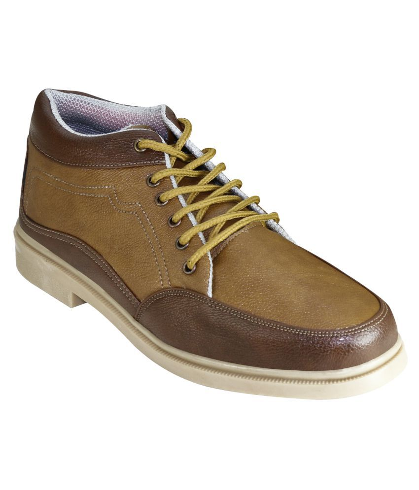 Fashimo Camel Casual Boot