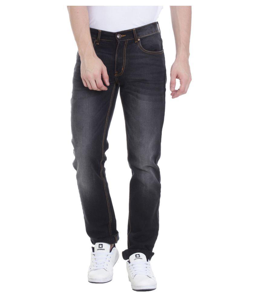 Vudu Black Slim Jeans