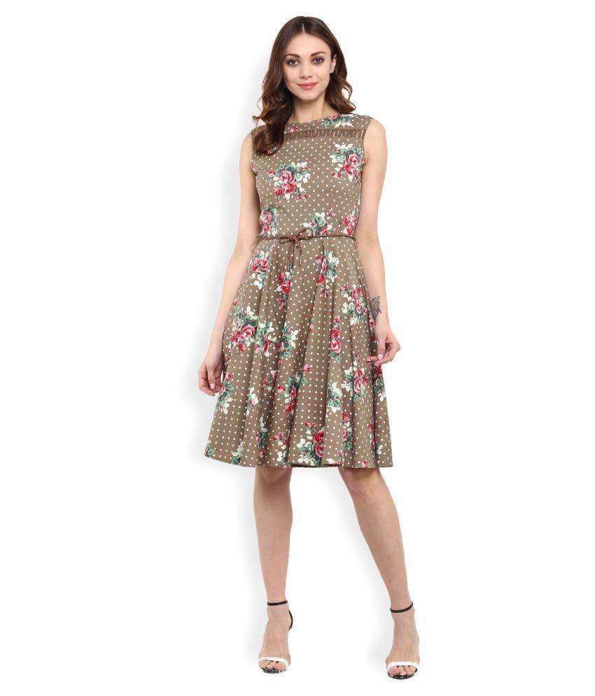 RSVP Cross Cotton Lycra Dresses