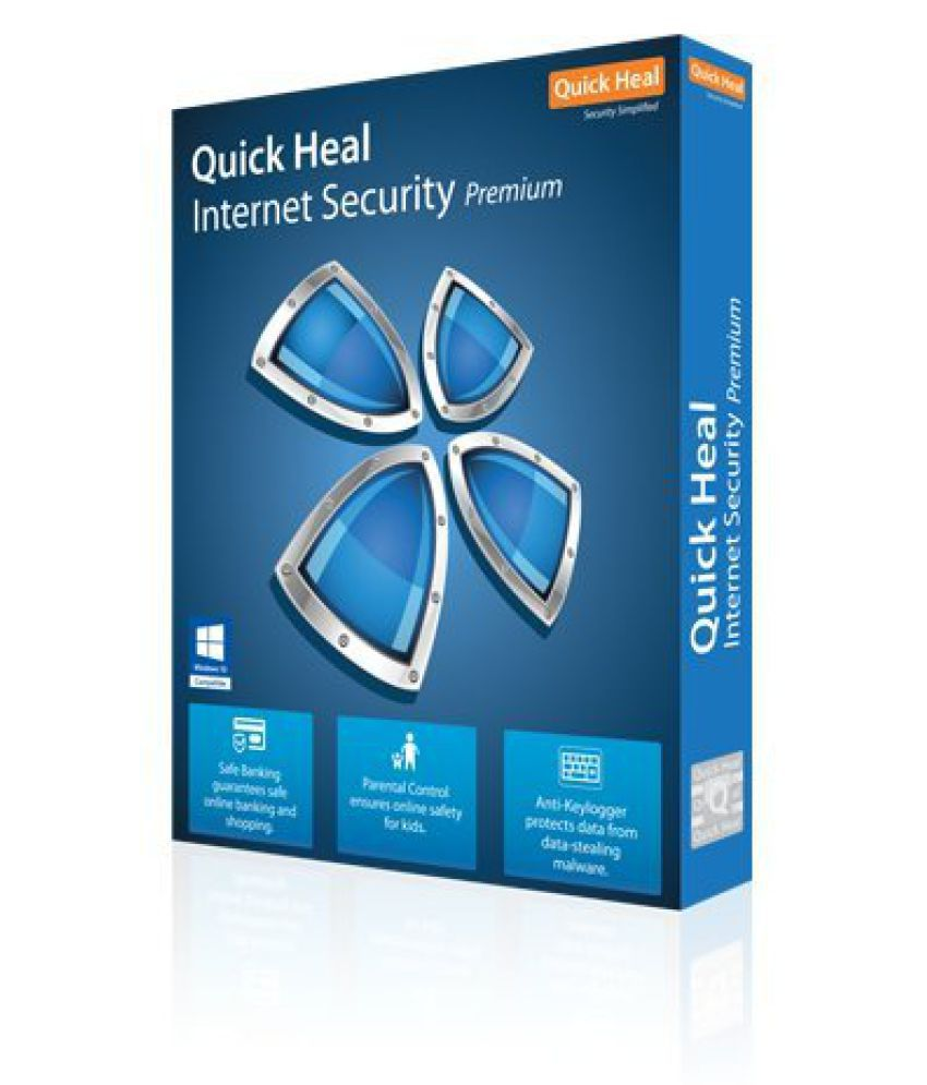 Quick Heal Internet Security 2013 ( 10 PC/ 3 Year ) CD