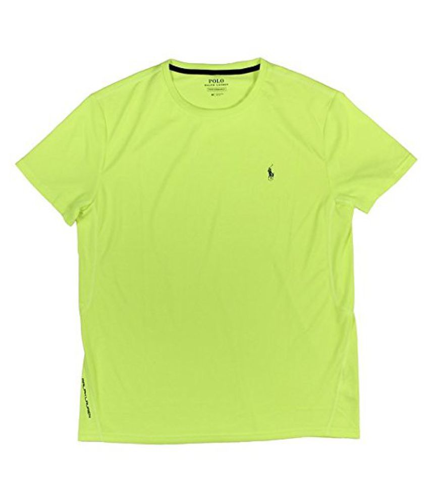 Ralph Lauren Polo Green Polyester T Shirt