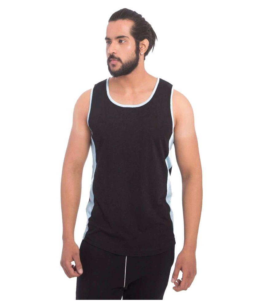 Yoloclan Black Round T-Shirt
