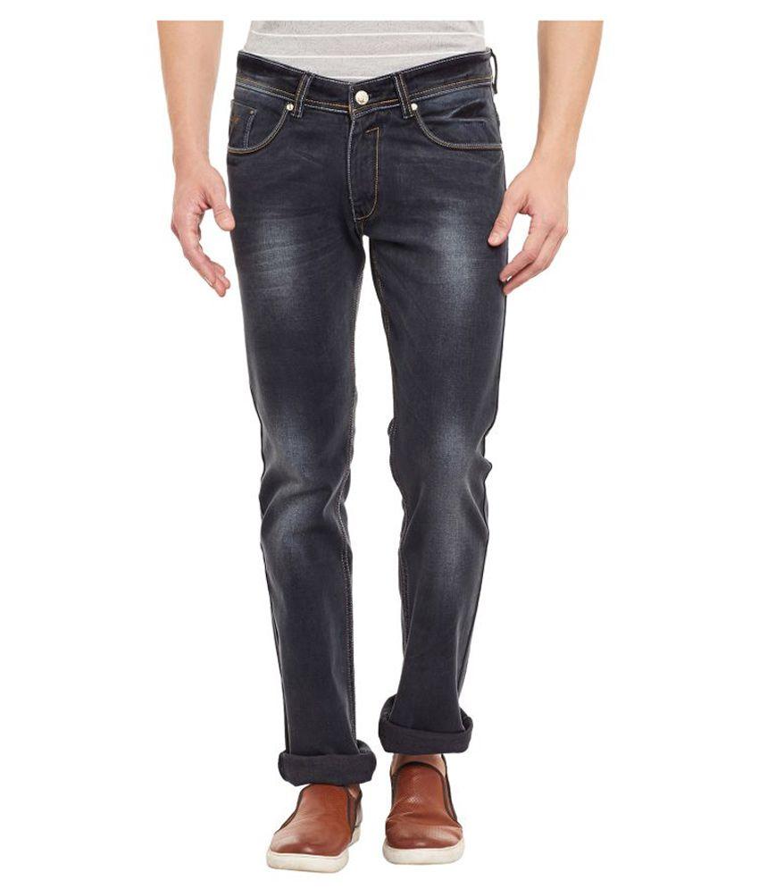 Duke Black Relaxed Jeans