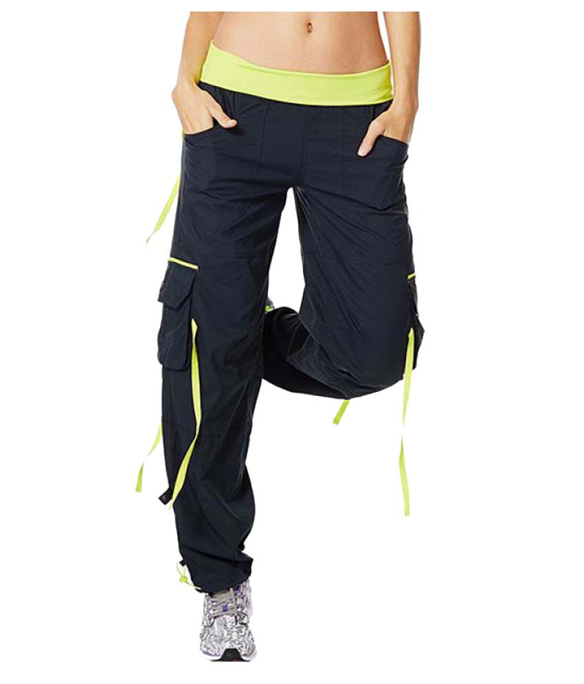 Zumba Women Soft-N-Stretch Cargo Pants