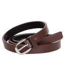 Kristof Brown Faux Leather Formal Belts