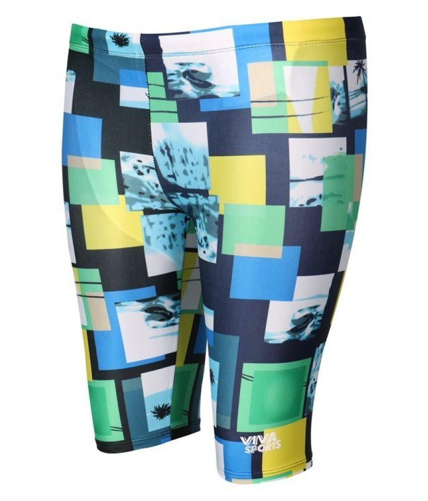 Viva Sports Multicolour Swimwear/ Swimming Costume