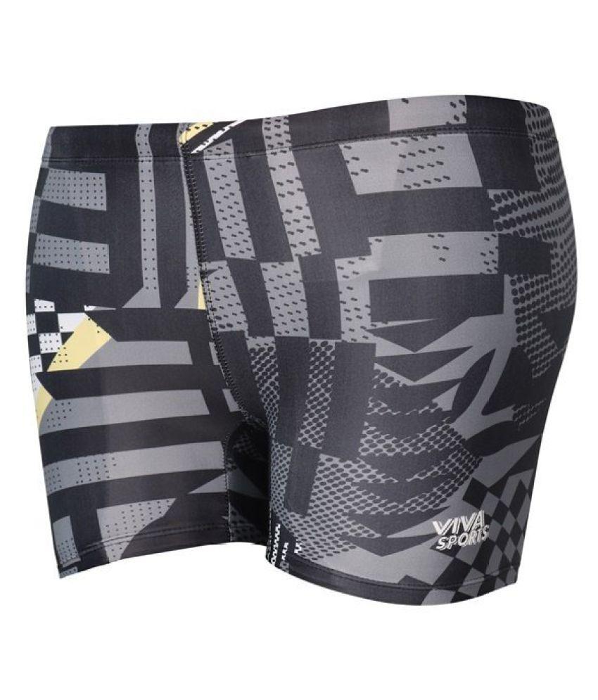 Viva Sports Multicolour Swimming Trunk/ Swimming Costume