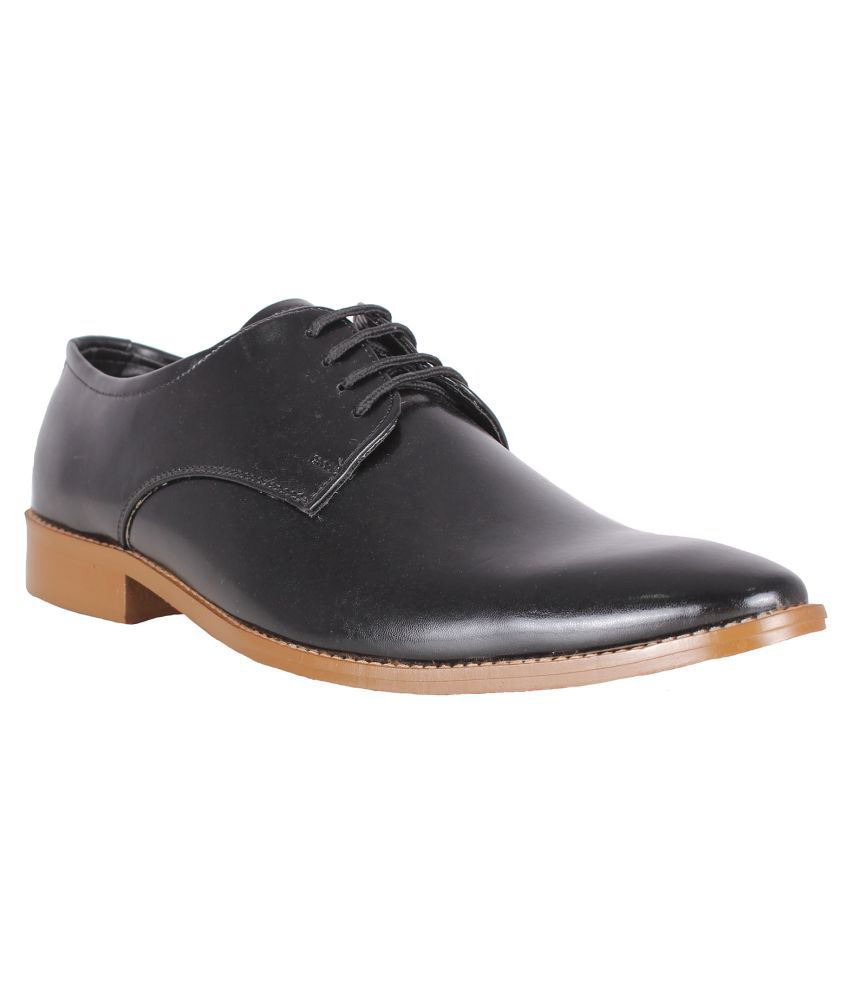 8b9cfb6f7a6e Bootease Black Derby Formal Shoes available at SnapDeal for Rs.1499