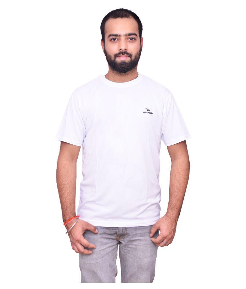 Mayor White Polyester T Shirt