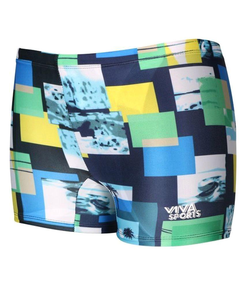 Viva Sports VSTK-001-B Kid's Swimming Trunks (Multicolor)