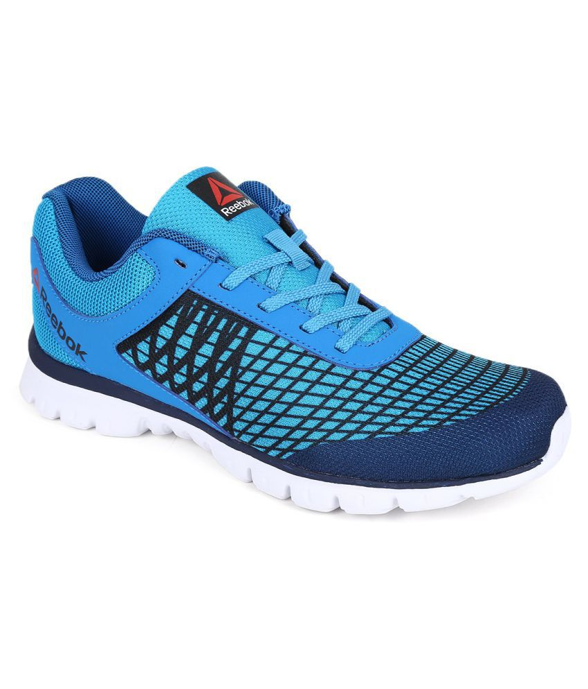a679e05ee Reebok Run Escape Blue Running Shoes - Buy Reebok Run Escape Blue Running  Shoes Online at Best Prices in India on Snapdeal