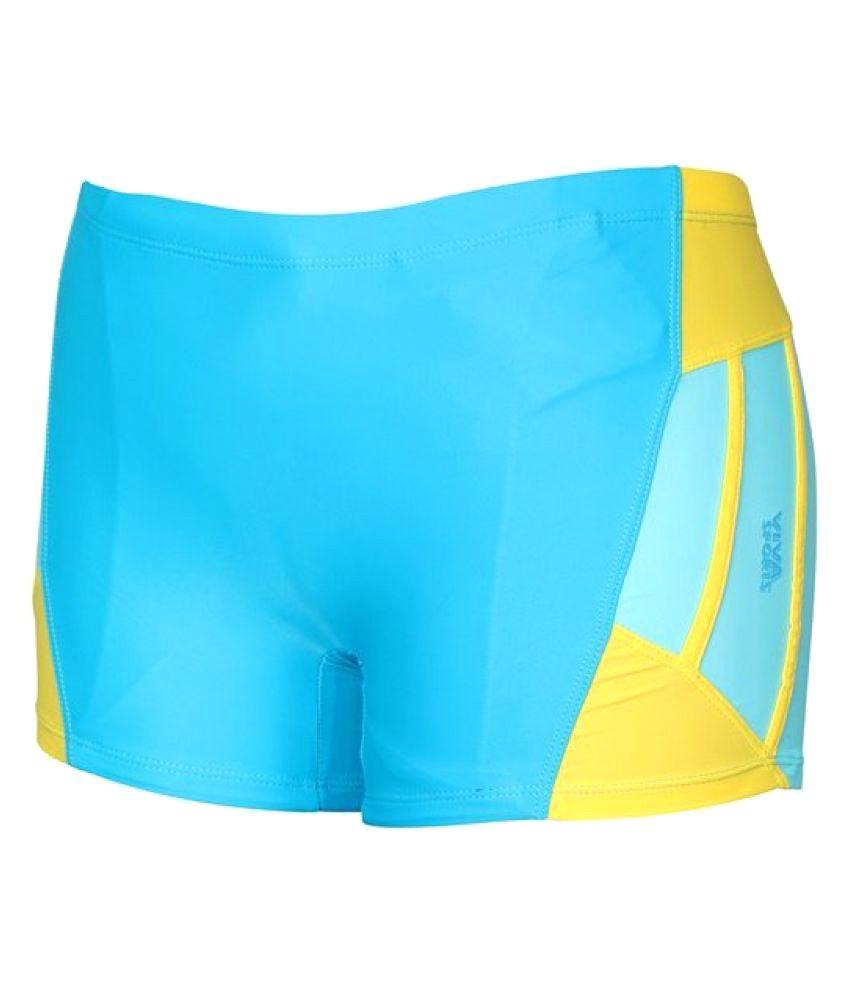 Viva Sports VSTK-006-B Kid's Swimming Trunks (Multicolor)