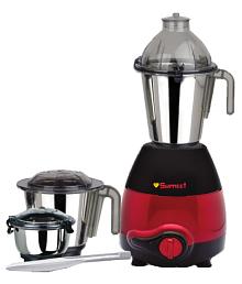 Sumeet Domestic Plus 2010 750 Watt 3 Jar Mixer Grinder