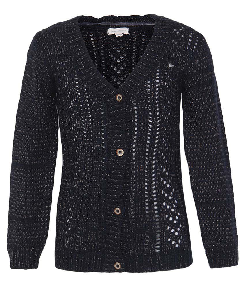 Pumpkin Patch Black Sweatshirt