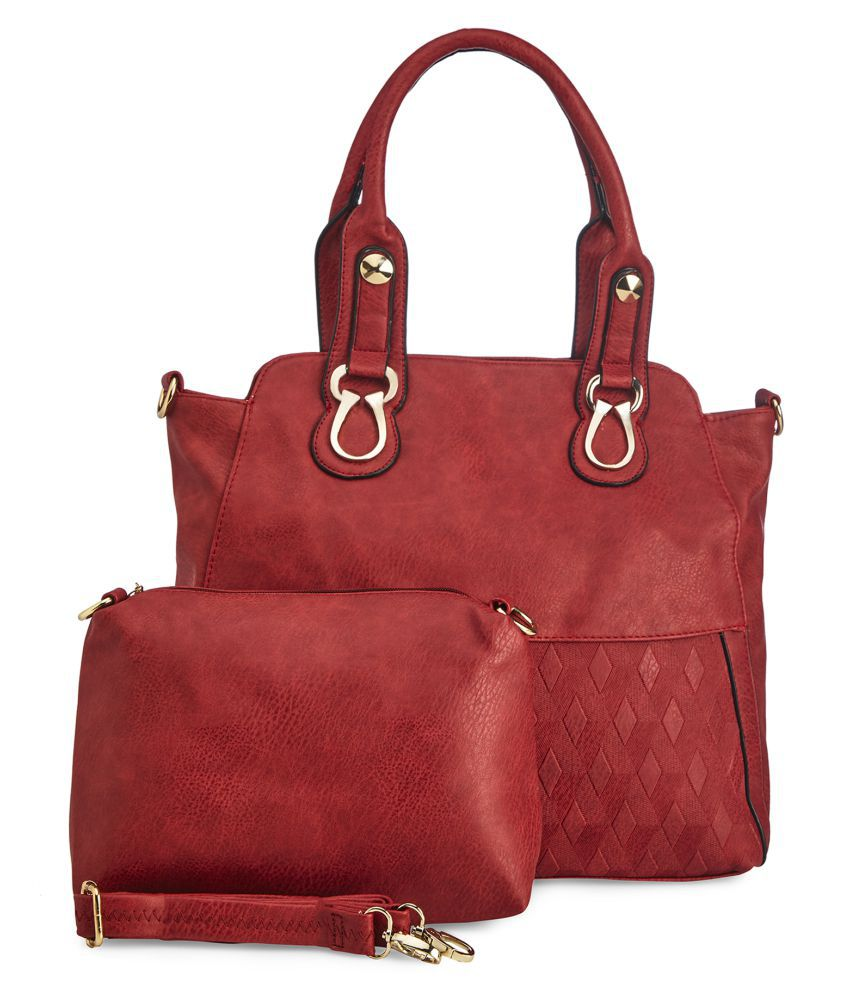 Vero Couture Red P.U. Combo