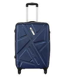 Safari Traffik-Anti Scratch Purple 4 Wheel Hard Luggage-Size Medium (Between 61 Cm-69Cm)