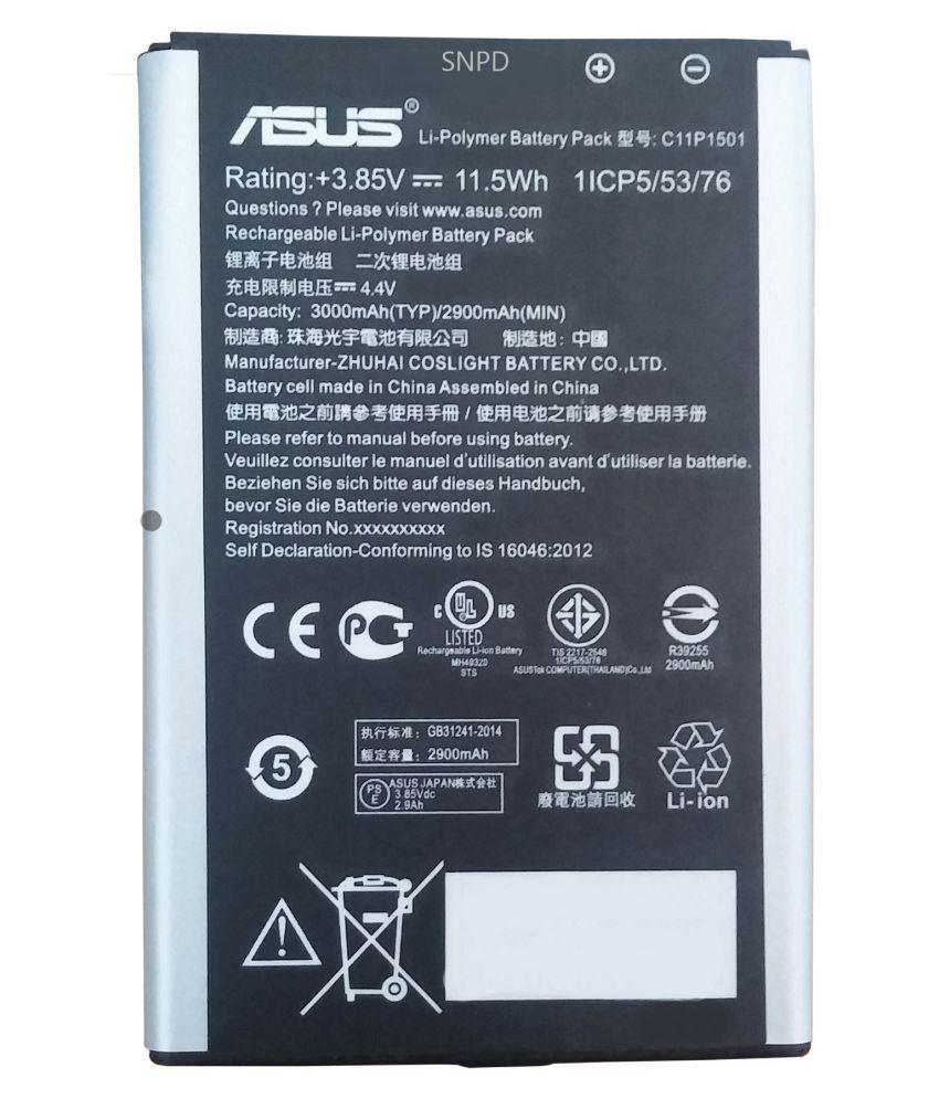 best service 8eac1 deef7 Asus ZenFone 2 Laser ZE601KL 3000 mAh Battery by SNPD