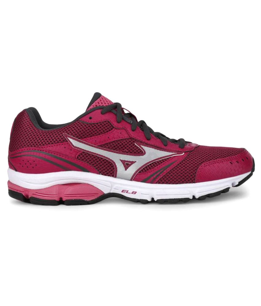 0e8d73360d66 Mizuno Wave Impetus 3 Pink Running Shoes Price in India- Buy Mizuno Wave  Impetus 3 Pink Running Shoes Online at Snapdeal
