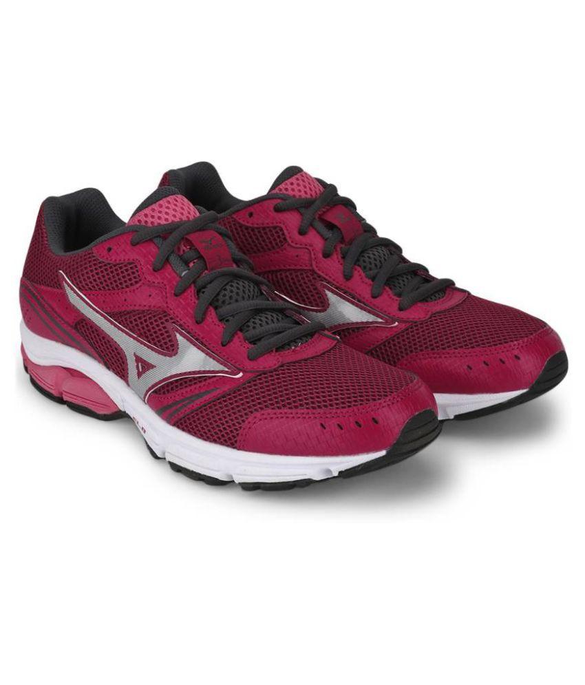 5e70fba30005 Mizuno Wave Impetus 3 Pink Running Shoes Price in India- Buy Mizuno ...
