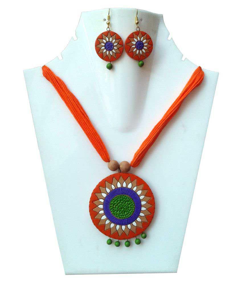 Sanshul Multicolor Necklaces Set