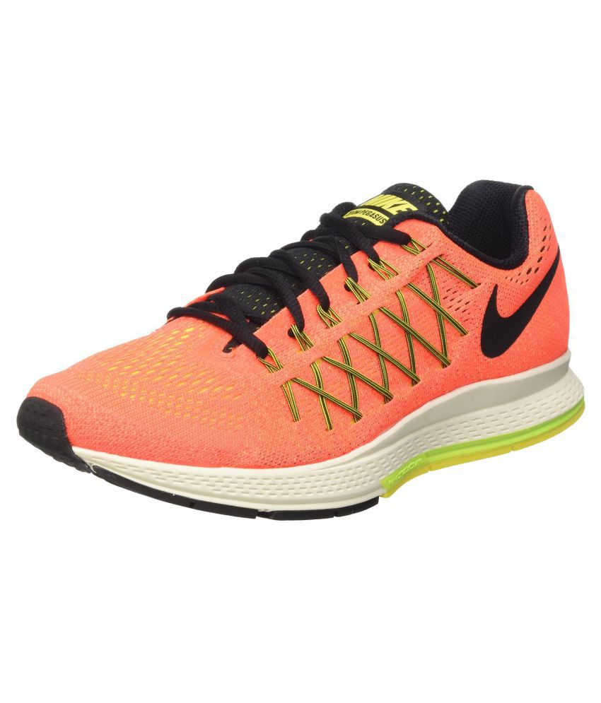 Nike Orange Running Shoes