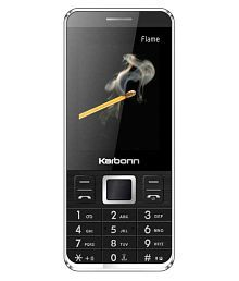 Karbonn Flame 128 MB Black