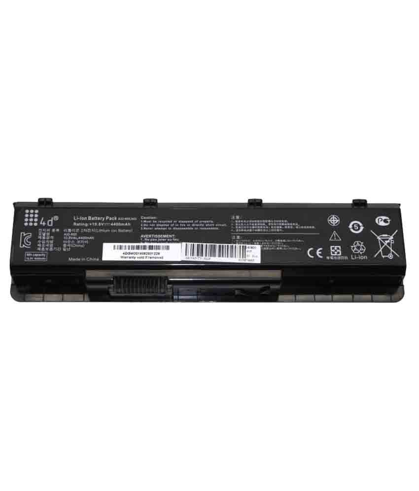 4d Laptop battery Compatible For Asus A32-N45 A32-N55 A32-N75