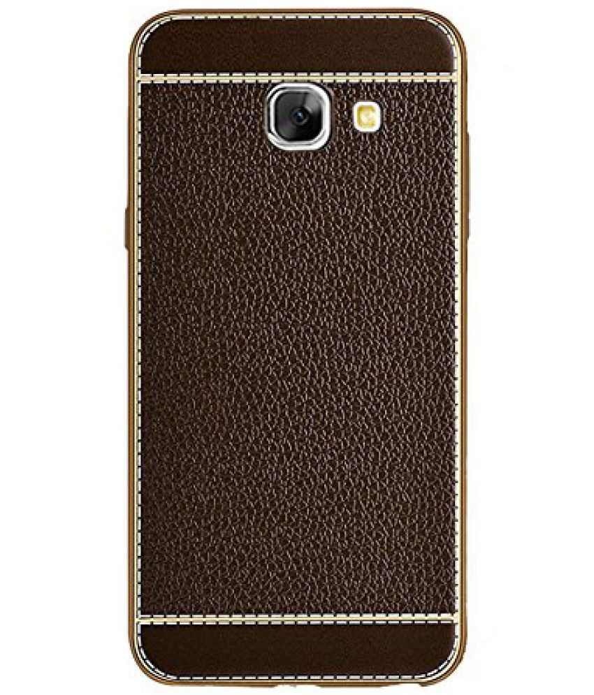 best loved f596f 3ff80 Samsung Galaxy J7 Prime Plain Cases KolorFish - Brown