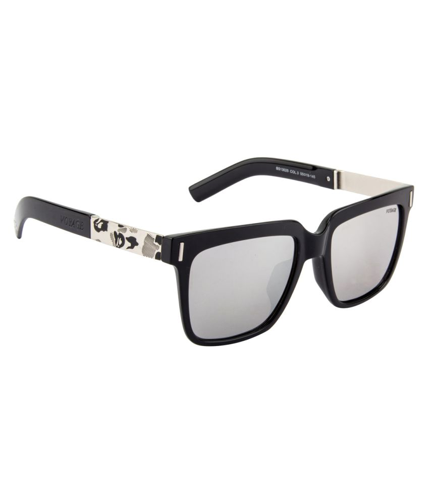 Voyage Silver Square Sunglasses ( BS13025MG2015 )