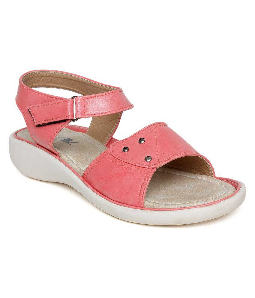 Vendoz Pink Flats
