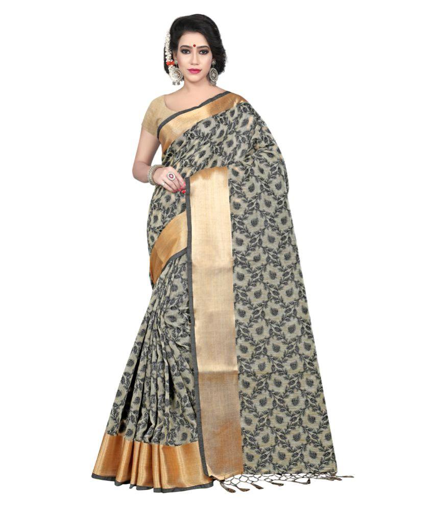 Bindani Studio Multicoloured Cotton Saree