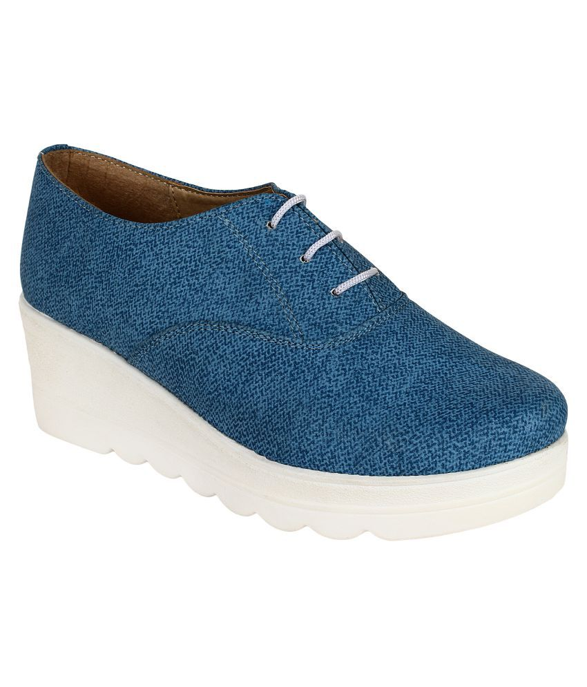 VAPR Blue Casual Shoes