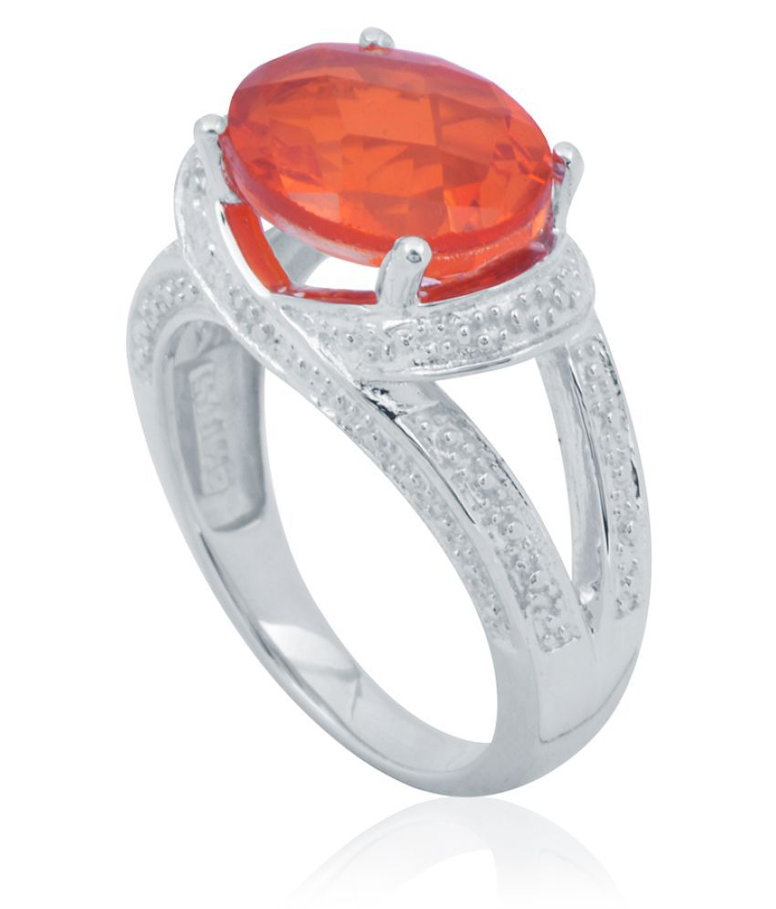 Vision Gems 92.5 Silver Ring