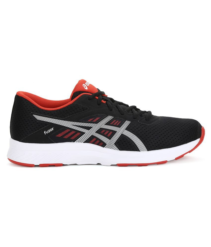 Asics fuzor Black Running Shoes Asics fuzor Black Running Shoes ...