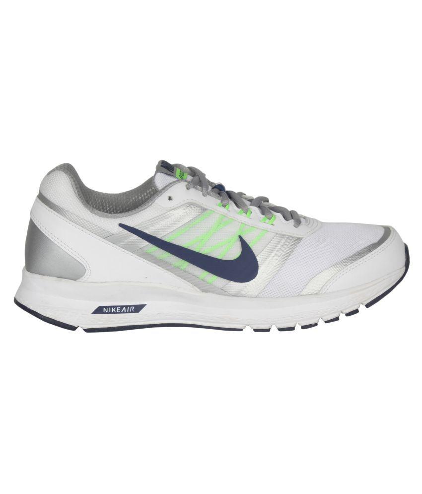 aaaead6f6d1 Nike Air Relentless 5 Msl White Running Shoes - Buy Nike Air ...