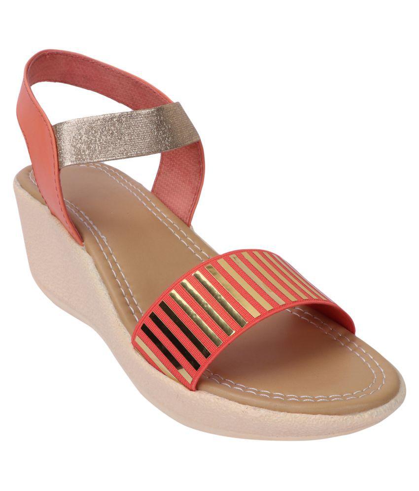 Smart Traders Multi Color Wedges Heels