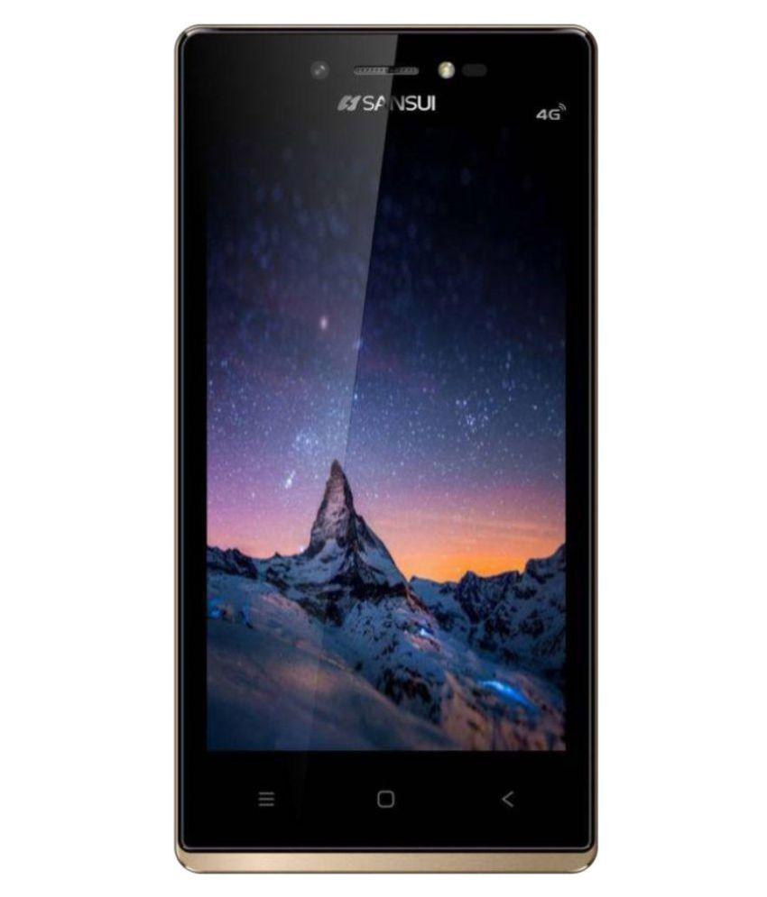 Sansui S51 8GB Black Gold