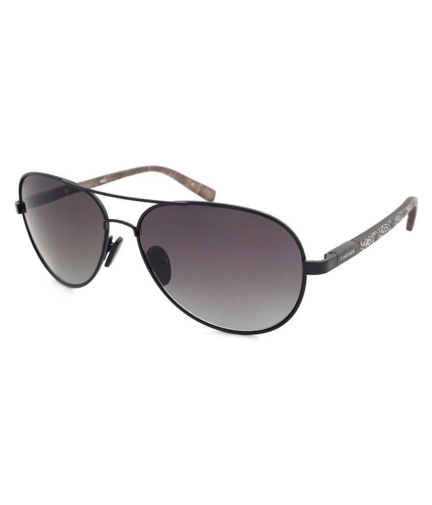 Fastrack Grey Aviator Sunglasses ( M132 )