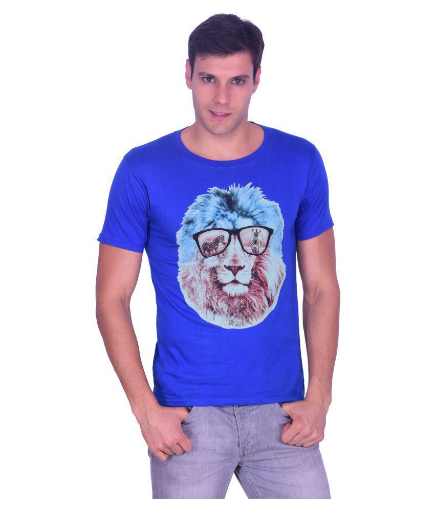 Burbn Blue Round T-Shirt