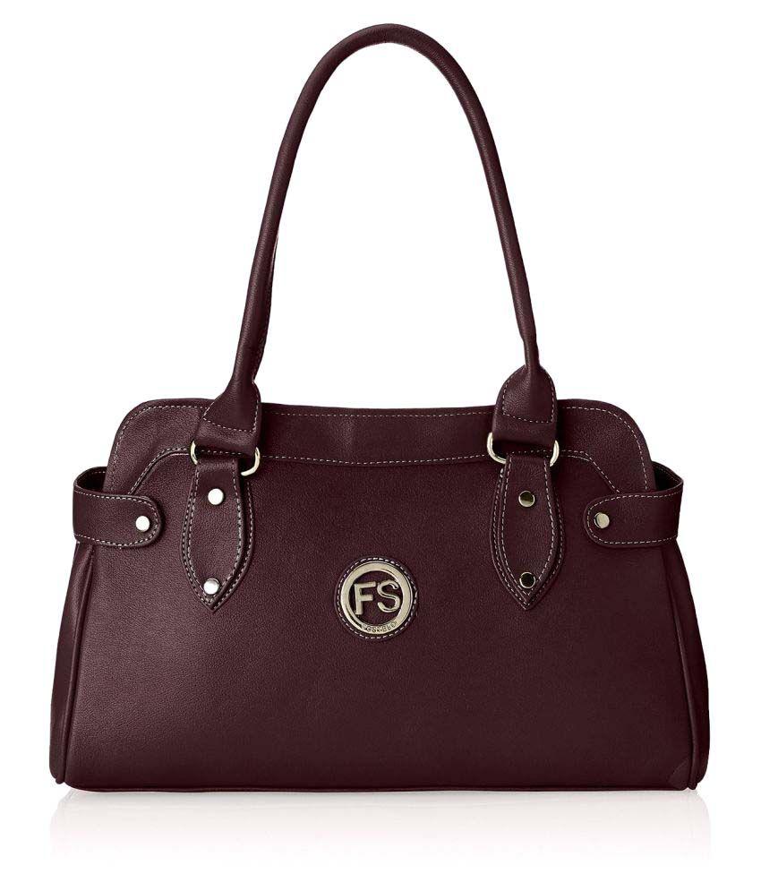 Fostelo Brown P.U. Shoulder Bag