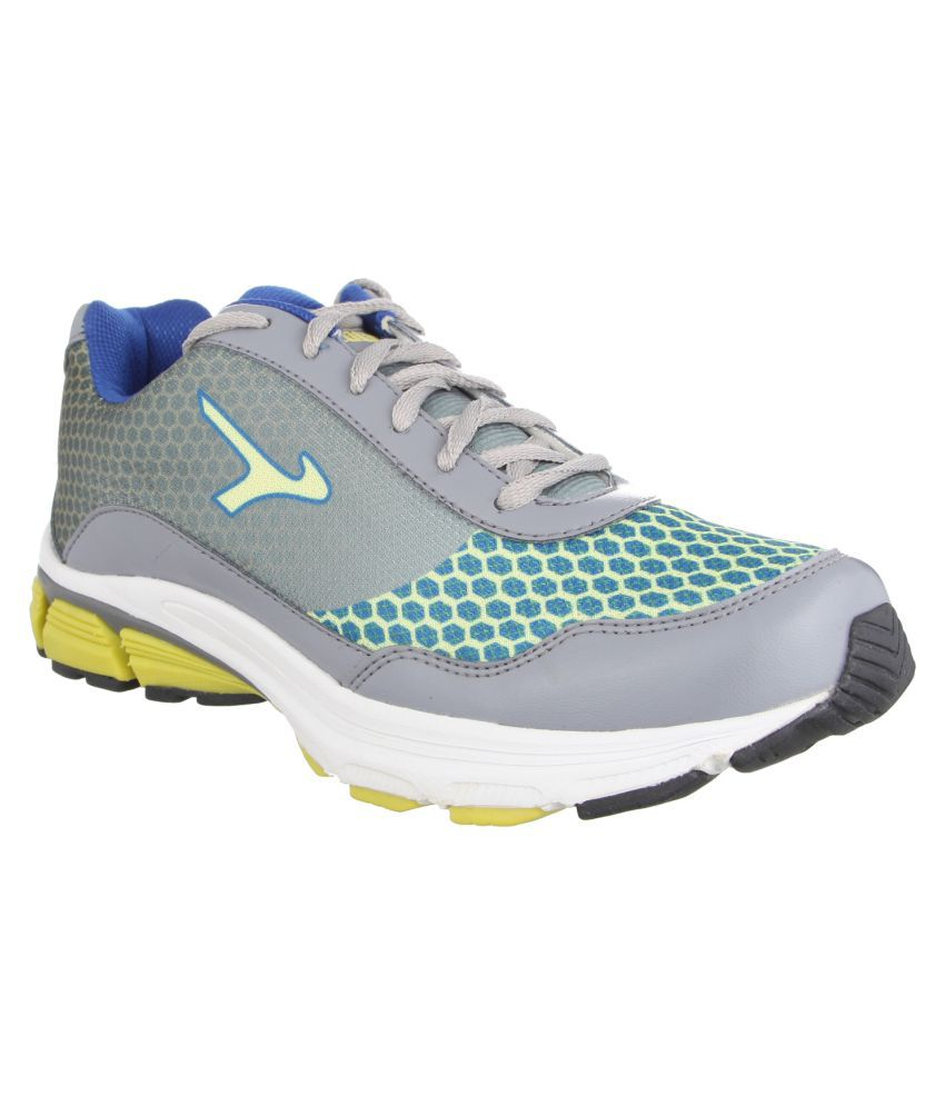Lakhani Touch 14-094 Gray Running Shoes