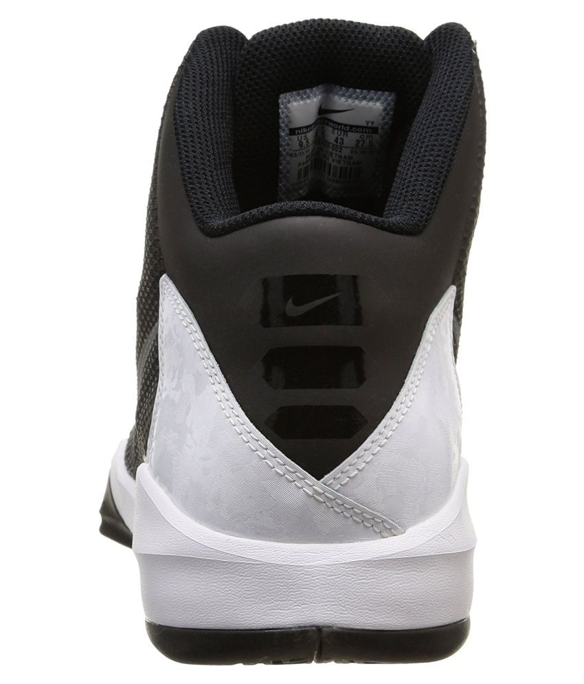 e5e88302eee8d Nike Zoom Without a Doubt Black Basketball Shoes - Buy Nike Zoom ...