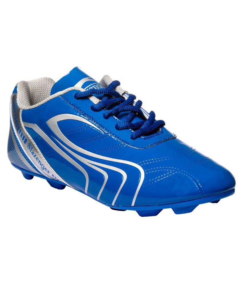 bd2564d711 Slazenger Premier Blue Football Shoes: Buy Online at Best Price on Snapdeal