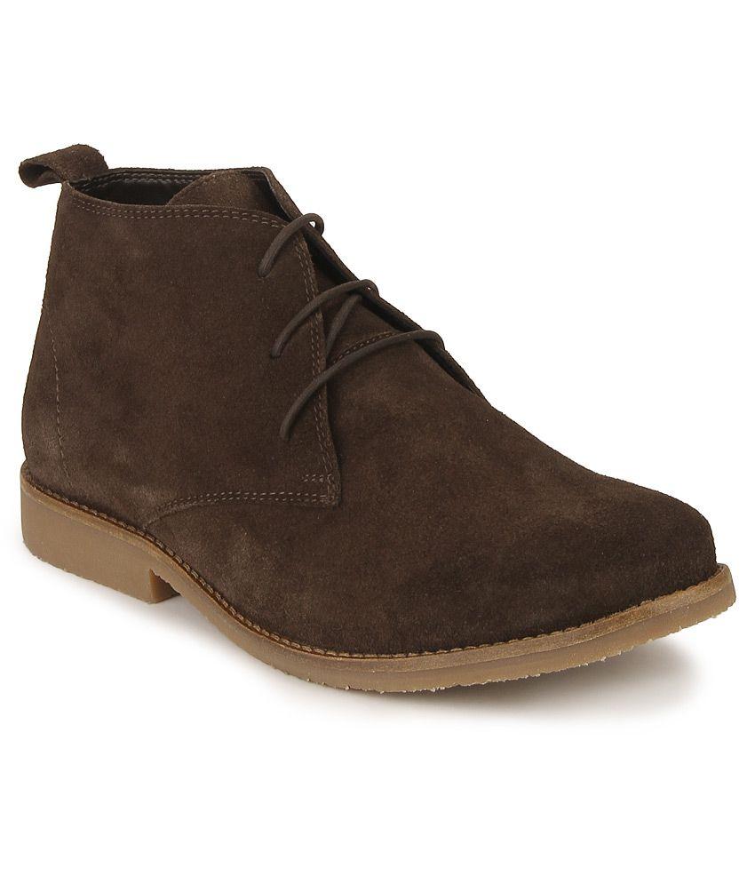 Carlton London Brown Casual Boot