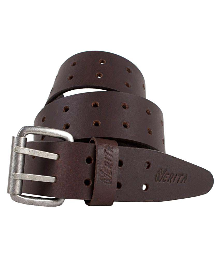 Nerita Brown Leather Casual Belts