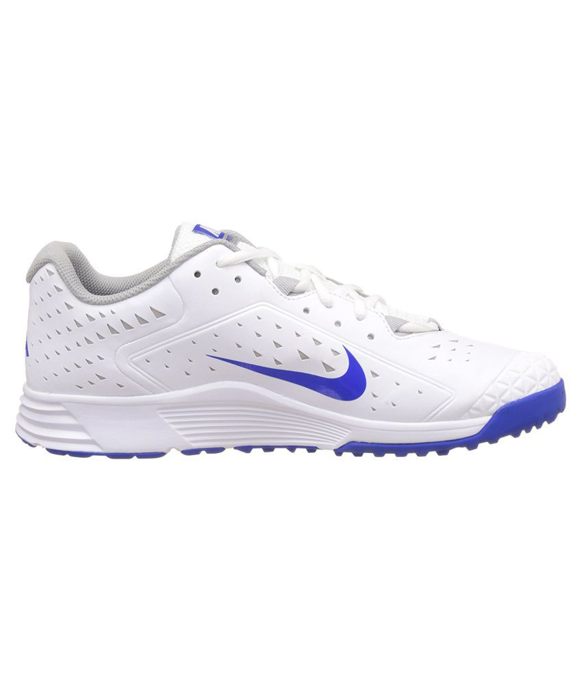 Nike Potential 2 White Cricket Shoes Nike Potential 2 White Cricket Shoes  ...
