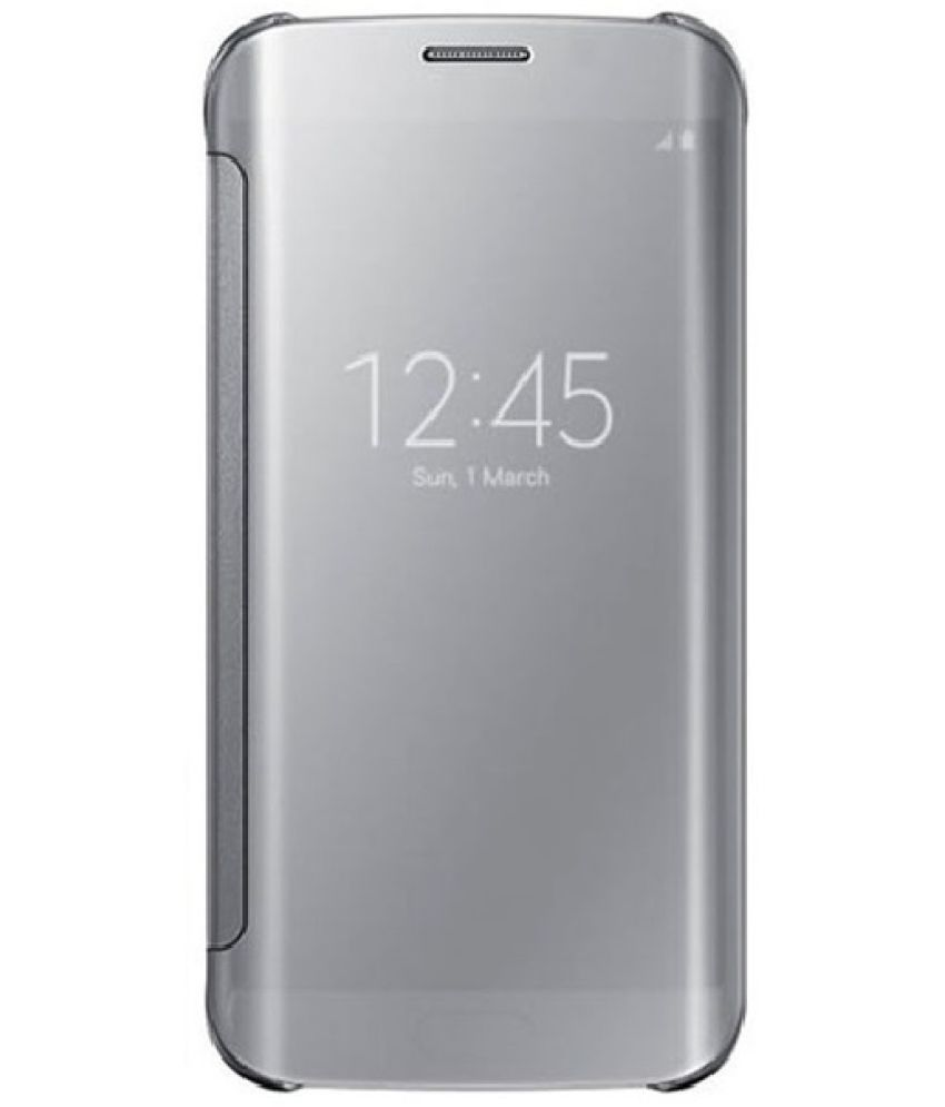 low priced 030d7 b52e4 Samsung Galaxy A5 (2017) Flip Cover by 2Bro - Silver - Flip Covers ...